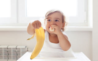 Признаки и лечение аллергии на бананы у детей