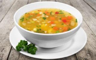 Как приготовить суп как в садике