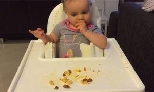 Как должен питаться ребенок в девять месяцев?