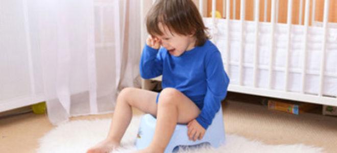 Почему ребенок перестал ходить на горшок