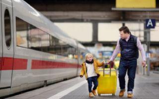 Как путешествовать на поезде с ребенком