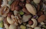 Польза и вред от употребления орехов при грудном вскармливании.