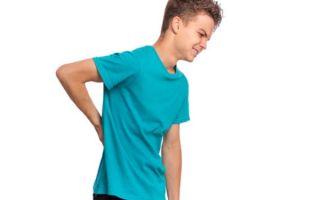 Почему у ребенка болит спина