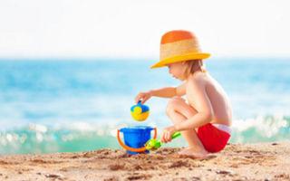 Когда можно брать с собой ребенка на море