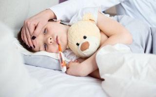 До скольки поднимается температура при ОРВИ у ребенка и сколько дней держится