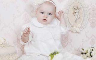 Что подарить на крестины ребенку, девочке