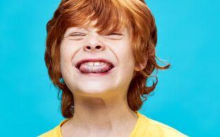 Что делать, если ребенок сильно прикусил язык