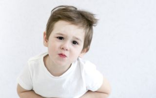 Что делать, если у ребенка стал желудок