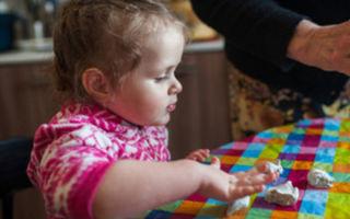 Рецепт соленого теста для лепки для детей