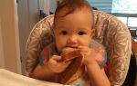В каком возрасте и какой хлеб давать новорожденному ребенку