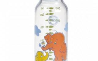 Бутылочка для кормления новорожденного ребенка, какой она должна быть