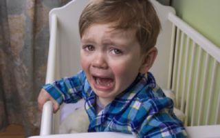 Истерики по ночам у ребенка: почему и что делать