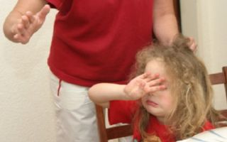 Что делать, если мать сильно ударила ребенка