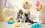Как украсить комнату ребенку на 1 годик в День Рождения