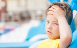 Ребенок получи солнечный удар: первая помощь и лечение
