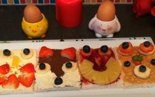 Какие бутерброды сделать для детей на День Рождения