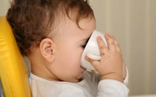 Как научить ребенка пить воду