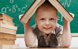Какие знания и умения должны быть у ребенка перед школой