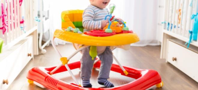 Можно ли детям ходунки и с какого возраста