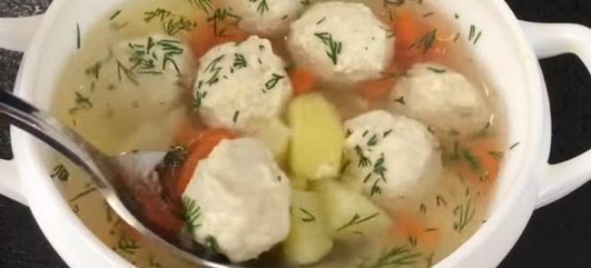 Как приготовить суп с фрикадельками для ребенка