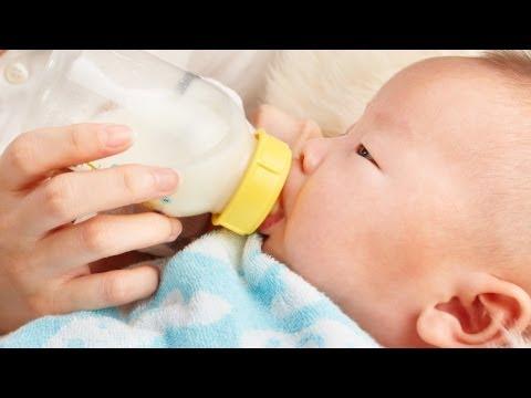 Малыш на искусственном вскармливании