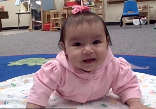 Распорядок дня ребенка в 6 месяцев