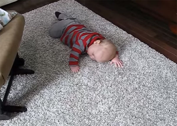 Ребенок устал