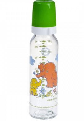 Стекляная бутылочка для кормления