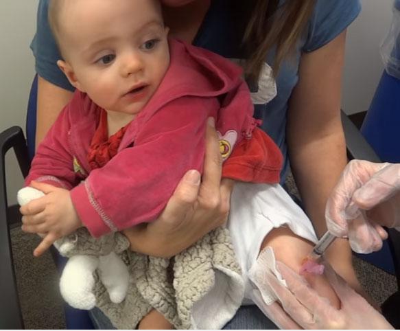 Прививка позже нормы