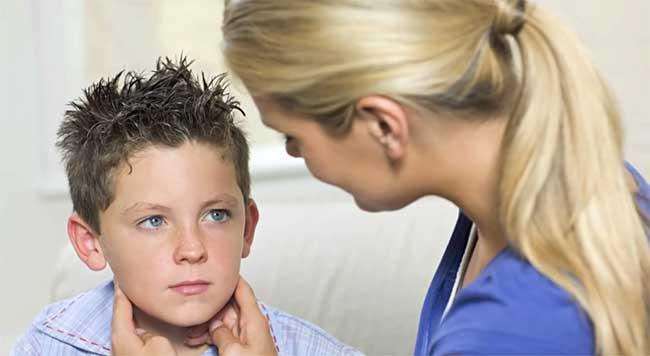Диагностика свинки у ребенка