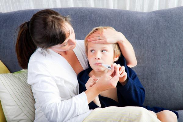 Ребенок заболел менингитом