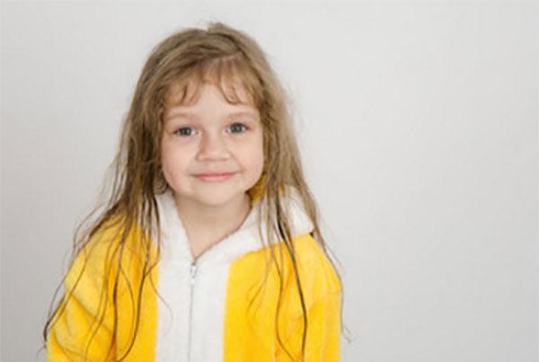 Четырехлетняя девочка