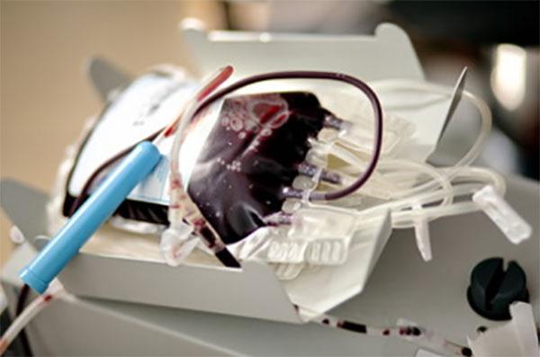Мешок с плазмой крови