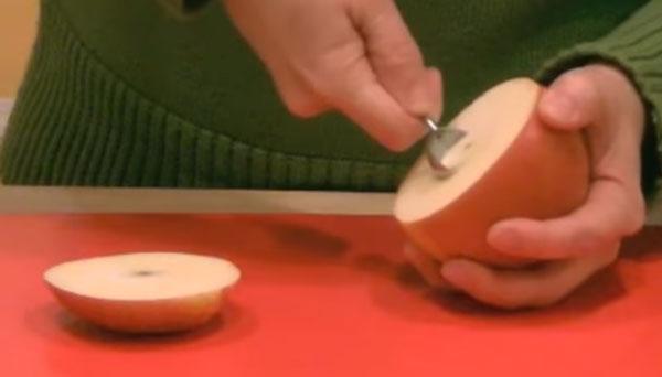 Вырезание сердцевины