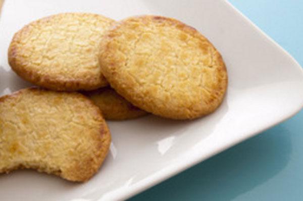 Готовое галетное печенье