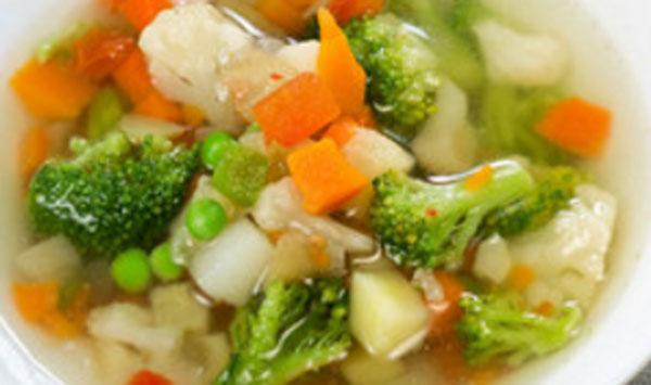 Вареное овощное рагу