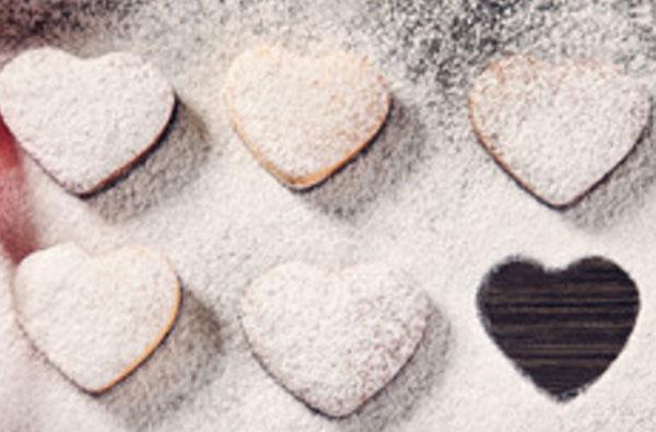 Готовые печенья в пудре