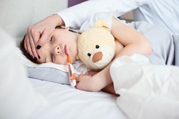 Вирусная инфекция с высокой температурой без симптомов — Грипп