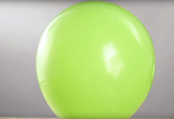 Надутый воздушный шар