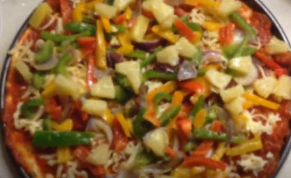 Выложенные овощи