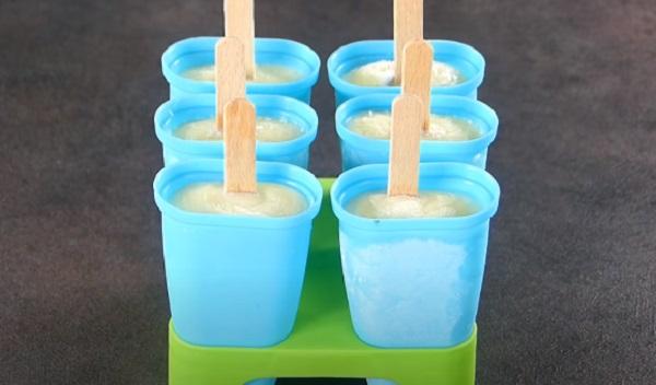 Вынутые изделия из морозилки