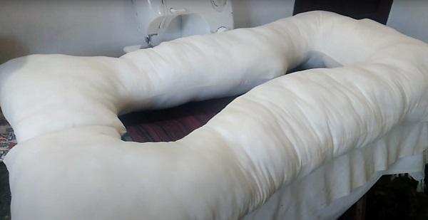 Подушка с наполнителем