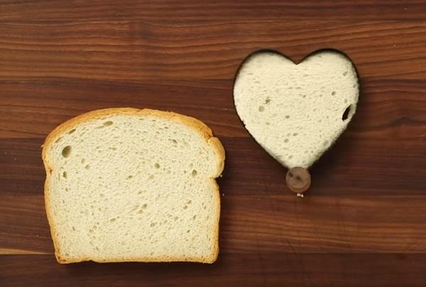 Вырезание сердечка