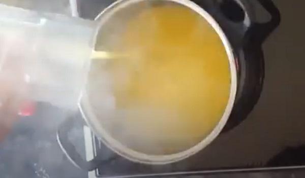 Добавление сока