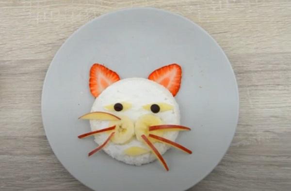 Создание мордашки котика